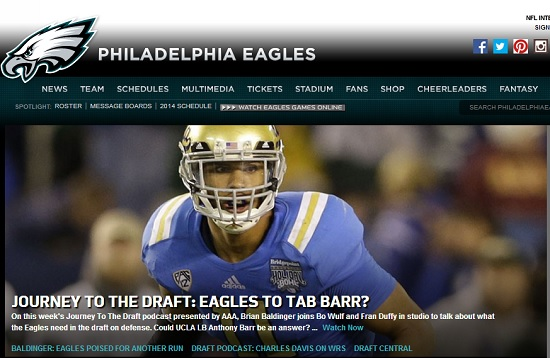 Image courtesy of Philadelphiaeagles.com