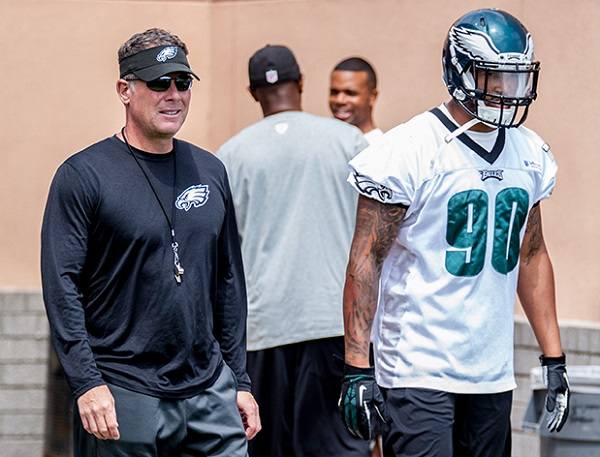 Marcus Smith learning the ropes.