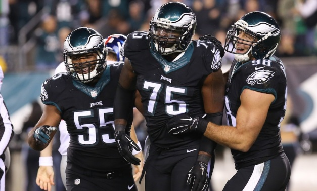 (l-r) OLB/DE Brandon Graham, DE Vinny Curry and OLB Connor Barwin. These three represent 21 of our 33 sacks Image courtesy of Phillymag.com