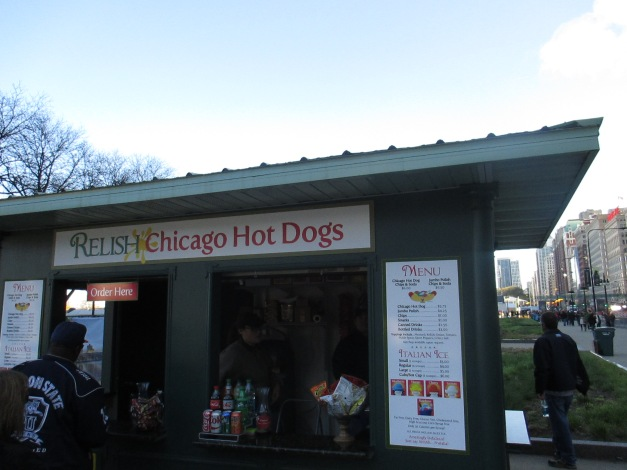 25. Michigan and Jackson (My first Chicago hot dog) 4.30.15