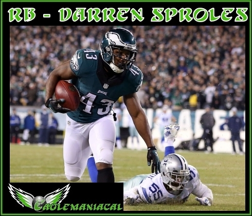 Darren Sproles card