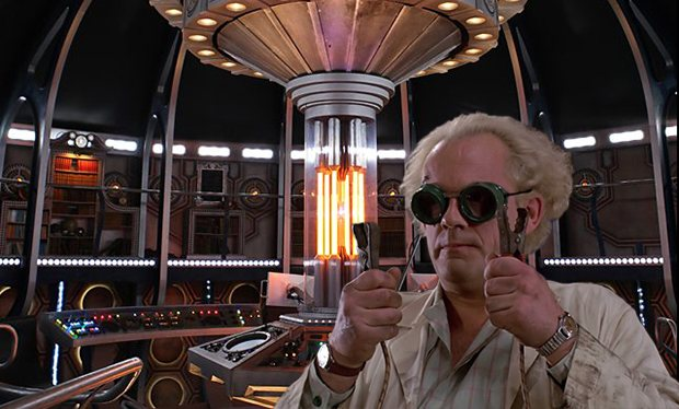 Doc Brown Time Lord