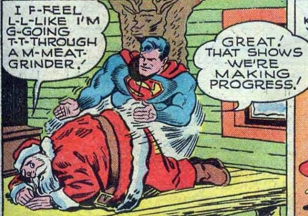 superman santa