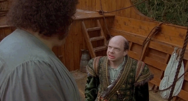 princess bride - vizzini + fezzik