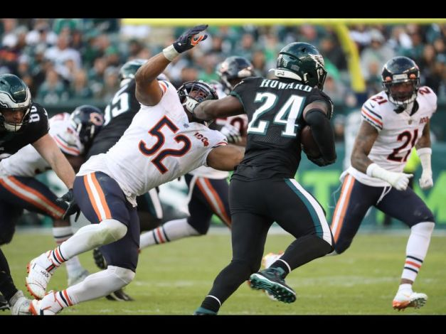 2019 Jordan Howard Khalil Mack
