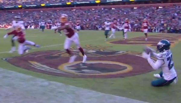 2019 Miles Sanders TD catch