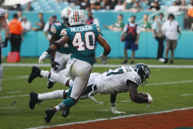 2019 Alshon Jeffery scores miami