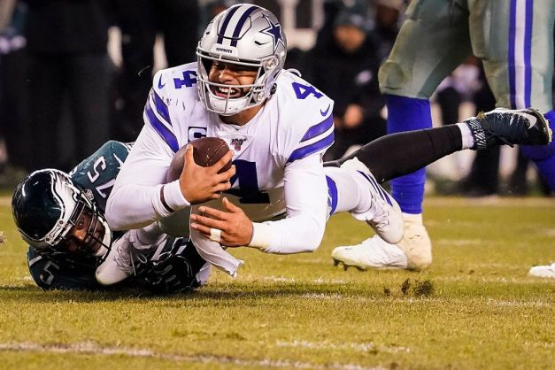 2019 Vinny Curry on the a Dak