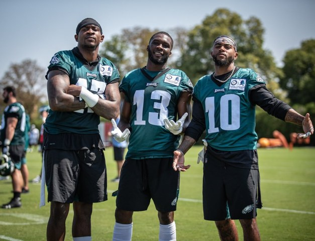 2019 Eagles WRs - Good luck trying to sleep