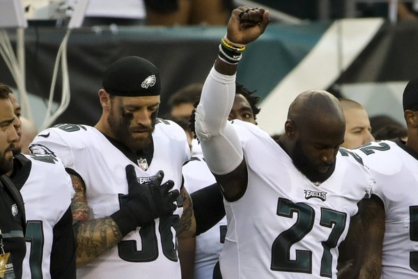 Chris Long and Malcolm Jenkins