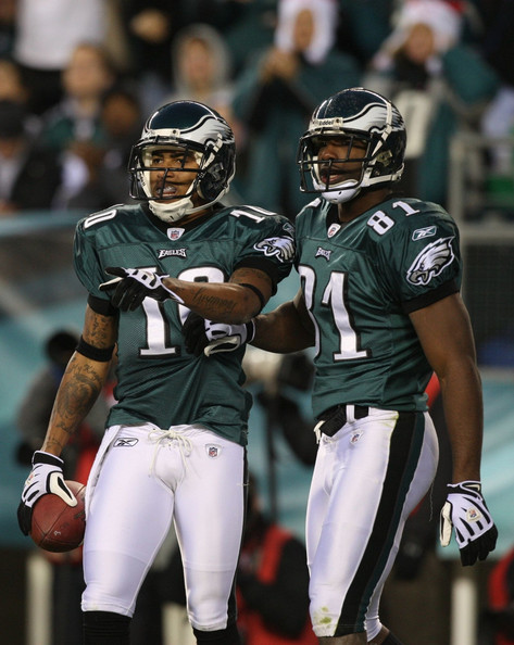 Jason Avant and Desean Jackson vs Den