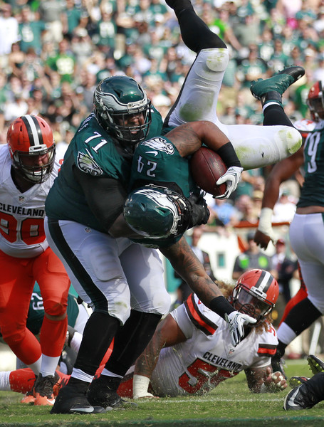 Jason Peters catching Ryan Mathews