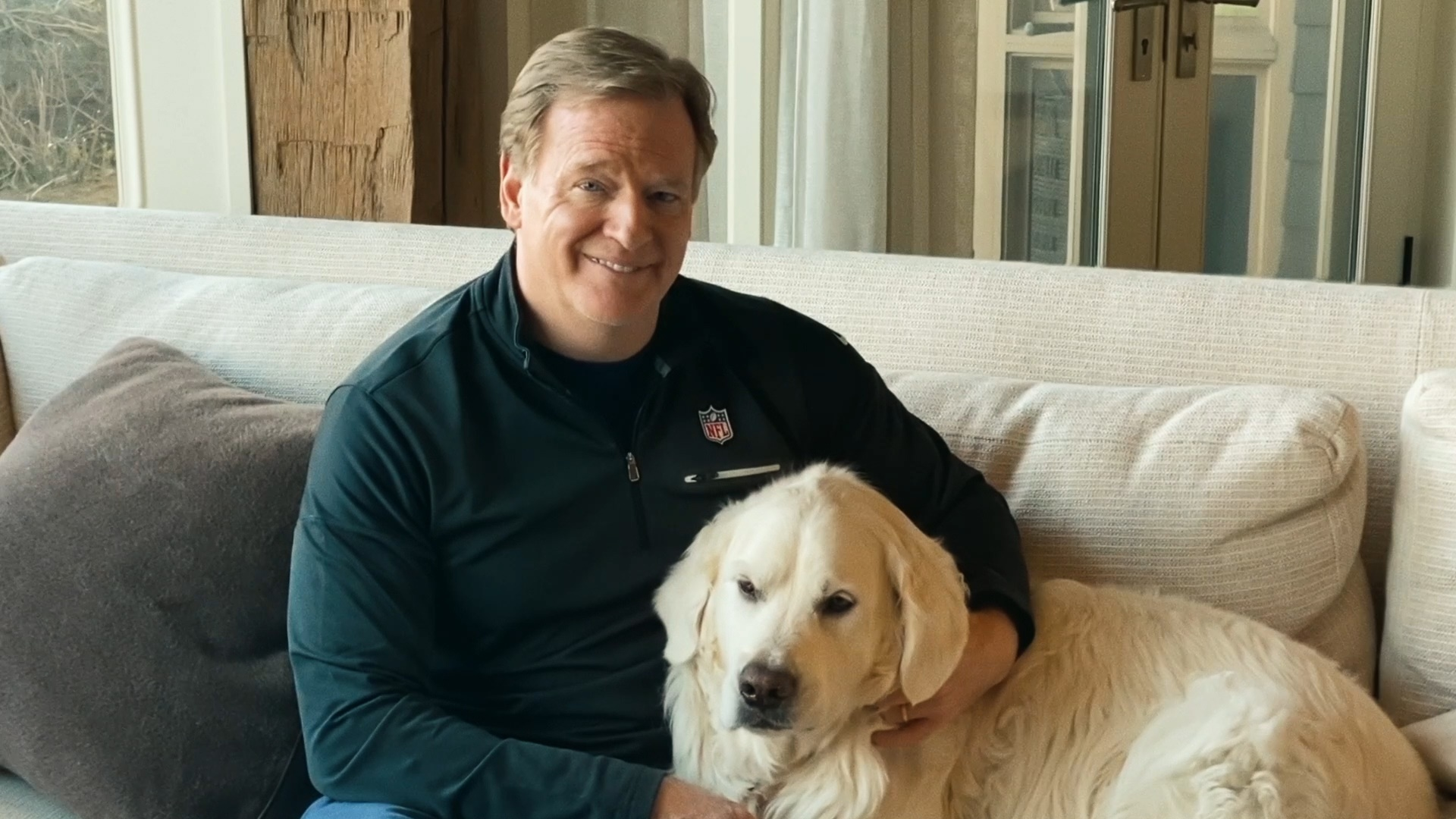 Roger Goodell Boo the Commish 2020